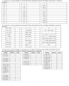 Binario con la calculadora